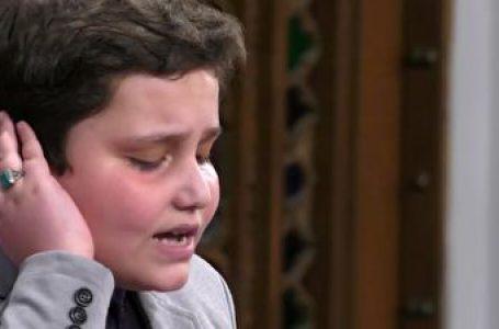 تلاوت حیرت انگیز نوجوان ۱۲ ساله به سبک استاد مصطفی اسماعیل